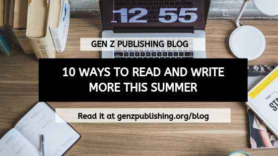 10 Ways to Read and Write More This Summer