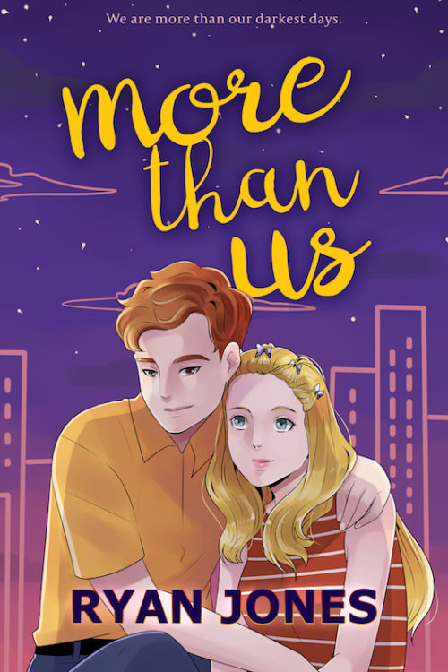 A hand-drawn illustration of a teen couple in Toronto