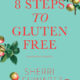 Antique apple drawings with the title 8 Steps to Gluten Free